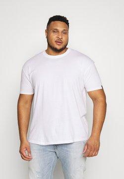 Common Kollectiv - PLUS BOX FIT FLASH TEE - Camiseta básica - white