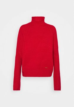 River Island - Strickpullover - red bright