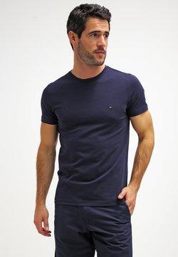 Tommy Hilfiger - NEW STRETCH TEE C-NECK - T-shirt basic - navy blazer
