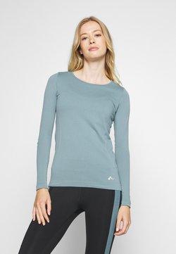 ONLY Play - ONPSTACIA CIRCULAR - Camiseta de deporte - goblin blue
