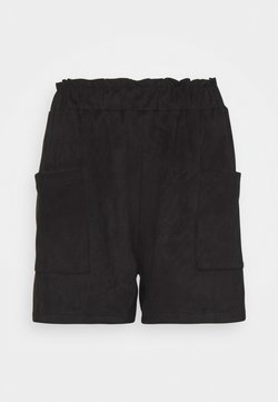Noisy May - NMUVA SHORTS - Shorts - black
