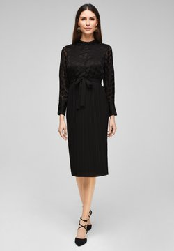 s.Oliver BLACK LABEL - Cocktailkleid/festliches Kleid - black dots