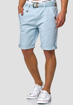 INDICODE JEANS - CASUAL FIT - Short - blau palace blue