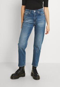 Tommy Jeans - HARPER STRGHT ANKLE - Straight leg jeans - denim medium