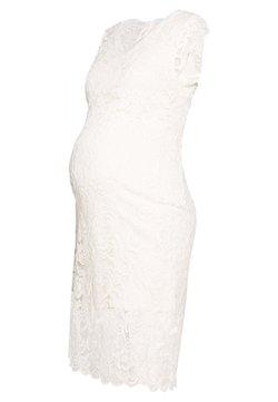MAMALICIOUS - MLNEWMIVANA CAP DRESS - Cocktailkleid/festliches Kleid - snow white