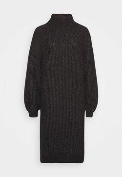 Noisy May Petite - ROBINA - Robe pull - dark grey melange