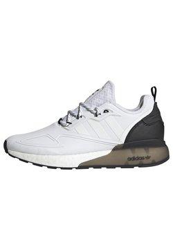 adidas Originals - ZX 2K BOOST SHOES - Sneaker low - ftwwht/ftwwht/cblack