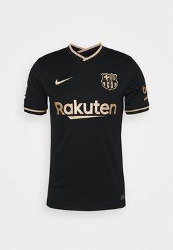 Nike Performance - FC BARCELONA AWAY - Vereinsmannschaften - black/metallic gold