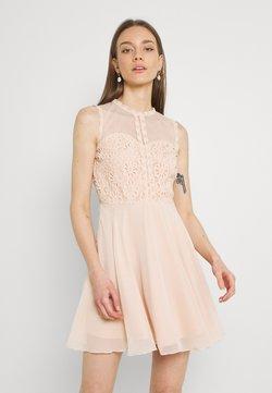 Lace & Beads - CARLIE SKATER - Cocktailkleid/festliches Kleid - nude