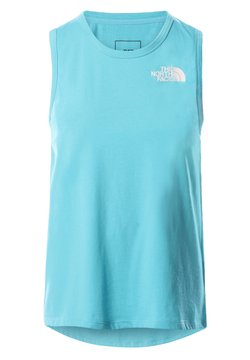 The North Face - W FOUNDATION GRAPHIC TANK - EU - Funktionsshirt - maui blue