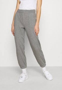 ONLY - ONLDEA DETAIL PANTS  - Jogginghose - medium grey melange