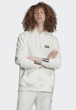 adidas Originals - FULL-ZIP HOODIE - Sweatjacke - white