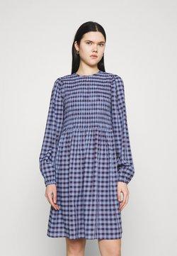 YAS - YASBLUMA SMOCK DRESS - Freizeitkleid - country blue