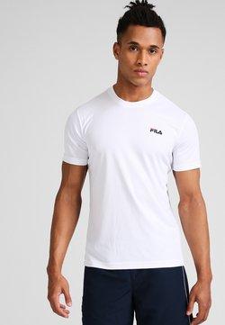 Fila - LOGO SMALL - T-Shirt basic - white