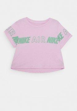 Nike Sportswear - TEE CROP AIR TAPING - T-Shirt print - arctic pink