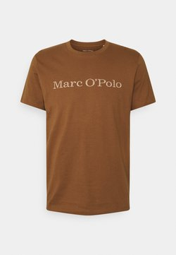 Marc O'Polo - SHORT SLEEVE CLASSIC - T-Shirt print - brown