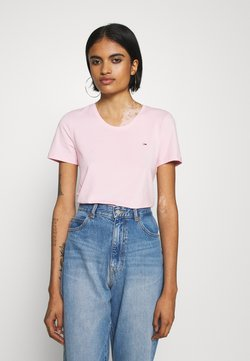 Tommy Jeans - T-Shirt print - romantic pink
