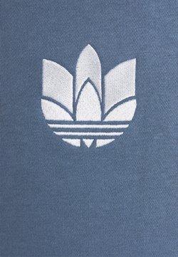 adidas Originals - TREFOIL HOOD UNISEX - Bluza - crew blue