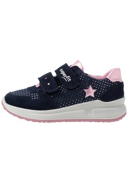 Superfit - MERIDA - Sneakers laag - blau/rosa