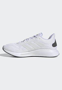 adidas Performance - GALAXAR RUN SHOES - Laufschuh Stabilität - white