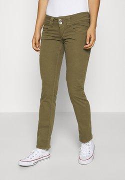 Pepe Jeans - VENUS - Trousers - olive
