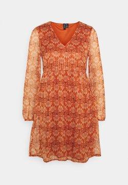 Vero Moda - VMBIANCA DRESS - Robe d'été - auburn