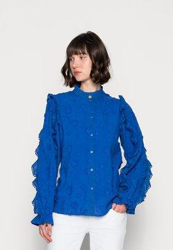 Fabienne Chapot - JOSEFIN BLOUSE - Koszula - cobalt