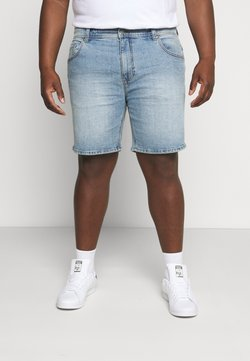Cotton On - STRAIGHT PLUS - Shorts vaqueros - everyday blue