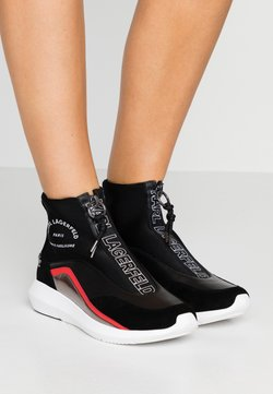 KARL LAGERFELD - VITESSE NEO SOCK ZIP  - Sneaker high - black