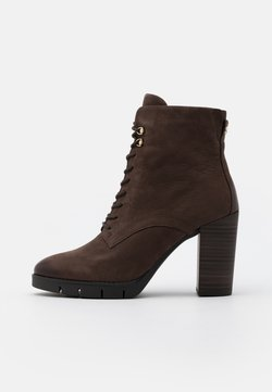 Tamaris - BOOTS - High heeled ankle boots - mocca