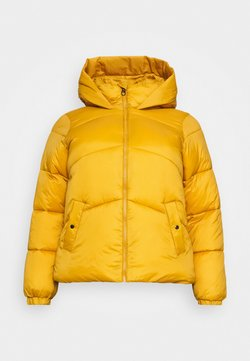 Vero Moda Curve - VMUPSALA SHORT JACKET - Winter jacket - buckthorn brown