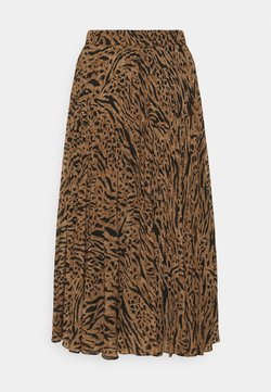Forever New - HARPER PLEATED  - Plooirok - brown