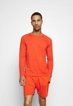 Casall - STRUCTURED LONGSLEEVE - Pitkähihainen paita - intense orange