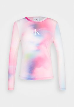 Calvin Klein Jeans - PRIDE - Langarmshirt - marble