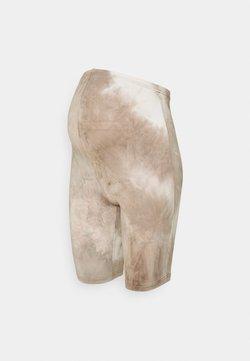 MAMALICIOUS - MLHARMON BIKER - Shorts - smoke gray