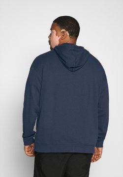 Pier One - veste en sweat zippée - dark blue