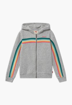Levi's® - FULL ZIP HOODIE - veste en sweat zippée - light gray