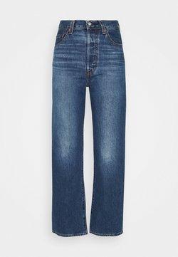 Levi's® - RIBCAGE STRAIGHT ANKLE - Jeans Straight Leg - noe fog