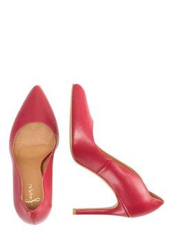 faina - High Heel Sandalette - red