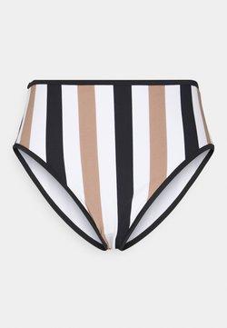 Freya - SAIL HIGH WAIST BRIEF - Bikini-Hose - white/black
