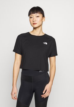The North Face - WOMENS ACTIVE TRAIL - T-shirt med print - black