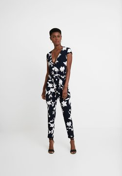 comma - OVERALL - Jumpsuit - dark blue