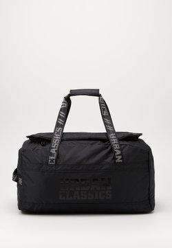 Urban Classics - SOFT TRAVELLER BAG - Weekendveske - black