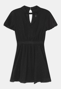 New Look 915 Generation - CHOKER DOBBY - Sukienka koktajlowa - black