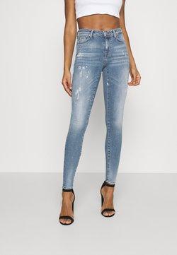 ONLY - ONLSHAPE LIFE - Jeans Skinny Fit - medium blue denim