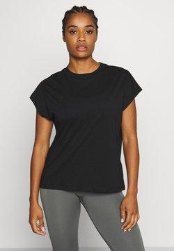 Filippa K - CREW NECK  - Camiseta básica - black