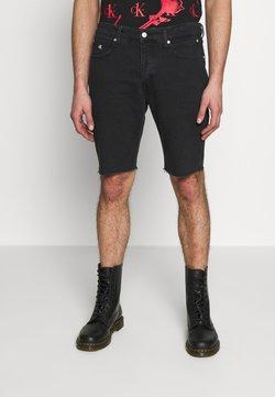 Calvin Klein Jeans - CK ONE REGULAR SHORT - Jeans Shorts - black stone