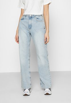 NA-KD - FULL LENGTH  - Relaxed fit jeans - light blue