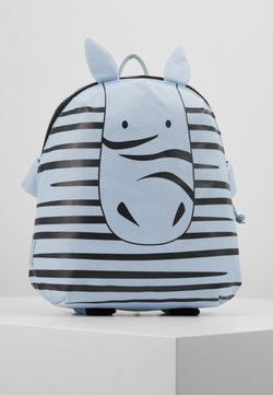 Lässig - BACKPACK ABOUT FRIENDS KAYA ZEBRA - Tagesrucksack - blue