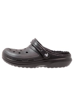 Crocs - CLASSIC LINED ROOMY FIT - Clogs - black